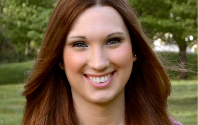 """Sarah McBride, 25, is the national press secretary for the Human Rights Campaign."" Image: glaad.org"